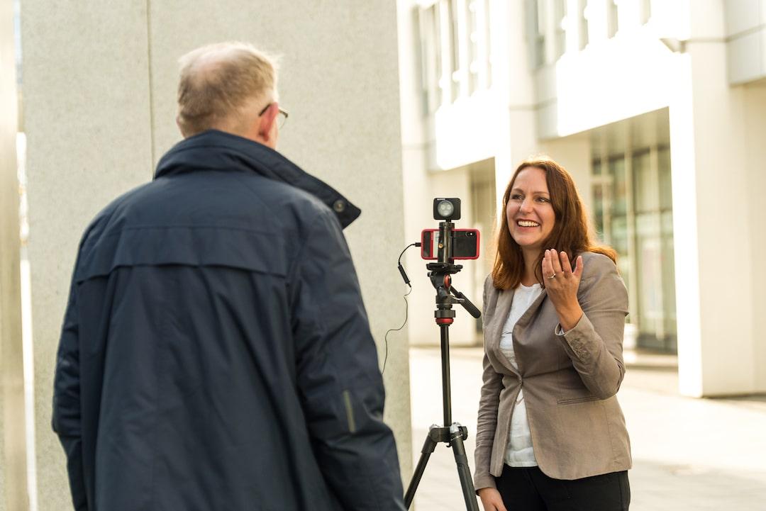 Interview mit dem Smartphone - Mikrofonliste
