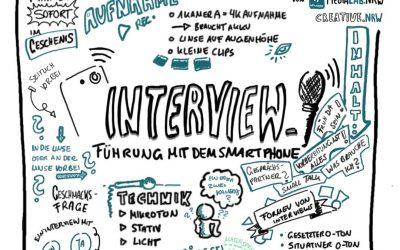 5 Tipps für Interviews mit dem Smartphone