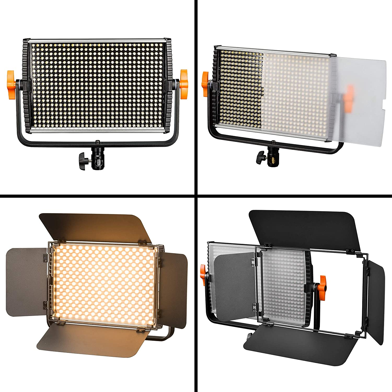 Walimex pro Niova dimmbare LED Videoleuchte