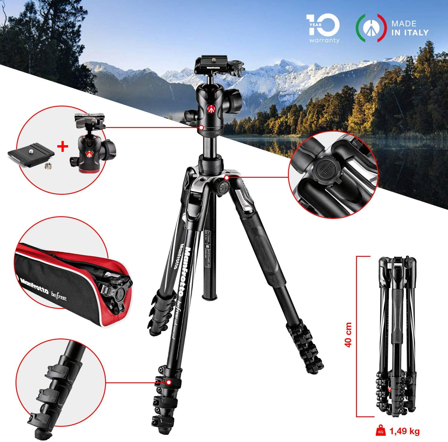 manfrotto befreee